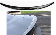 Carbon Fiber BMW E90 3-Series 4D M4 Style Rear Boot Spoiler UK Seller