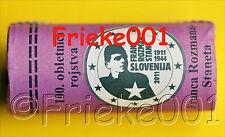 Slovenië - 2 euro 2011 comm rol.(Franc Rozman)