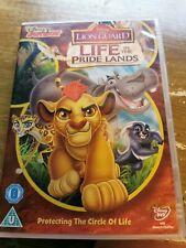 life in the pride lands the lion guard lion king  walt disney  dvd region 2