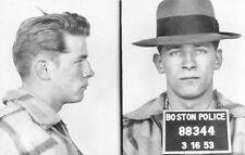 James Whitey Bulger Boston Mob Boss Boston Police Mug Shot 1953 8.5x11 Photo