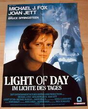Michael J. Fox LIGHT OF DAY original Kino Plakat A1