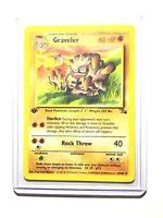 GRAVELER - 37/62 - 1st Edition Fossil - Uncommon - Pokemon Card -  NM