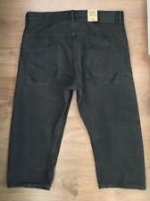 ALLSAINTS MENS SIZE W34 CROPPED RUNNER GUNRAY JEANS/ SHORTS BUTTON FLY - NEW