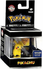 Pokemon Trainer's 1 Choice PIKACHU Figure with ID Tag AND Display Case Tomy Toys