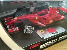 1:18 Hotwheel #N5423 Michael Schumacher Ferrari F2007 Barcelona Test 2007 SEALED