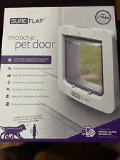 SureFlap Microchip Pet Door Petcare Innovation Sur101 White Cat Flap Door
