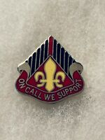 Authentic US Army 2223rd Engineer Battalion Unit DI DUI Crest Insignia G23