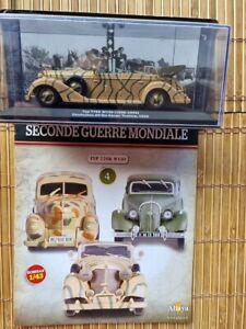 Collection voitures militaires de la seconde guerre mondiale  - 1/43 Altaya