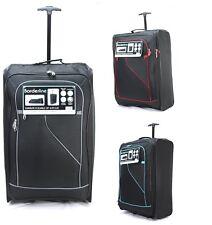 "Super Lightweight Extra Large 28"" Wheeled Trolley Hold Luggage Suitcase Case Bag"