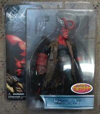 Mike Mignola's Hellboy w/ horns Figure, Mezco Exclusive, New In Box