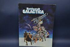 Battlestar Galactica-Vintage Movie Program-Dirk Benedict-1978