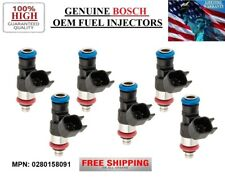 NEW 6pack /2010-2011 Lincoln MKT 3.7L V6/ OEM Fuel Injectors BOSCH MP#0280158091