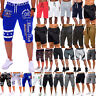 Men's Shorts Gym Sports Jogging Running Half Pants Summer Casual Bottom Trousers