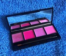 Coastal Scents Lip Quad With Brush - Juicy Pink - MELB STOCK