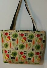 VEGETABLE TO MARKET  PRINT PURSE/TOTE