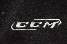 CCM Full-Zip Fleece Sweatshirt/Track Jacket Size Small