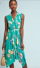 0fed056e6aa3 NWT Anthropologie $138 Maeve Rory Shirtdress Size 14-Fast Shipping