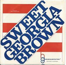 """BROTHER BONES~SWEET GEORGIA BROWN /BYE BYE BLUES HARLEM GLOBETROTTERS 7"""" 45 w/PS"""