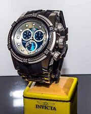 Invicta 21809 Reserve 52mm Bolt Zeus Ice Blue/Silver Chrono Poly Strap Watch NEW