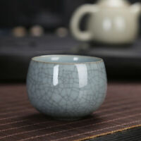 marked tea cup crackle glaze brother kiln porcelain cup longquan celadon cup tea
