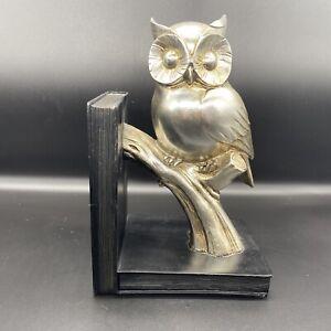 modern owl bookend