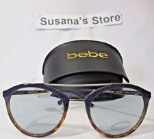NEW BEBE  SUNGLASSES, TORTOISE/NAVY/SILVER , PERFECT FOR A SUNNY DAY!!