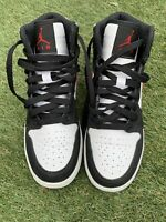 Jordan 1 Red Black And White 705300-020 Size 5y Classic Hype
