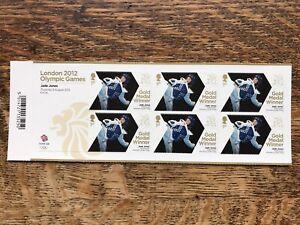 London 2012 Olympic Games, Jade Jones Stamps, MNH