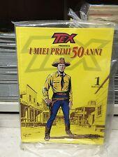 TEX Cartonato Mercury i miei primi 50 anni volume 1 stato eccellente monografia