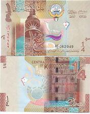 Kuwait - 1/4 Dinar 2014 UNC - Pick New