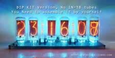 12V-[No Tube,No enclosure]-DIY-KIT-DIP-DIMMER-Pluggable-IN-18 6-Tube NIXIE Clock