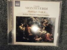 Delitiae Musicae, C. Monteverdi - Madrigals Book 4 [New CD]