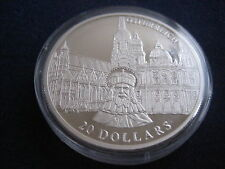 "MDS LIBERIA 20 DOLLARS 2001 PP / PROOF ""ÖSTERREICH"", SILBER #30"