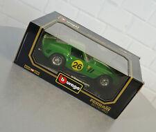 Burago 1/18 Ferrari 250 GTO (1962) Grün - 3011 - Die-Cast Modell Auto NEU OVP