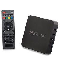 MXQ-4K 1+8G Android 7.1.2 Smart TV Box Media Player Quad Core Wifi Australian V