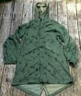 US Army Desert Storm Era Night Camouflage Fishtail Parka Small No Liner 1981Original Period Items - 10953