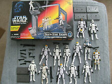 Star Wars Hasbro Clone Storm Trooper 13 Figures Death Star Escape Xtr Wps Bases