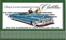 Billboard for Lionel Holder Cadillac Presenting the 1953 Eldorado