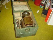 J. B. Colt Co. Carbide Telegraph Field Signal Lantern in Original Wood Box ,Rare