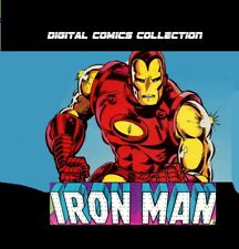 IRON MAN Ultimate Comics Collection 1 - 354 issues Eng- Digital - DVD DL Rare