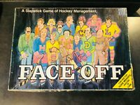 "Vintage 1974 ""Face Off"" Hockey Management Board Game - House of Games"