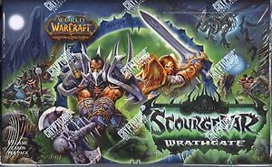 World of Warcraft TCG: Scourgewar Wrathgate Complete Card Set (All 220 Cards)
