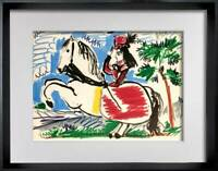 "Pablo PICASSO Lithograph LIMITED Edition ""10.3.59"" w/ Cat. Ref. C112 + FRAME"