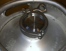 Stainless Stl Beer Keg SEALING KIT w/Cap, Special Keg Gasket and Clamp (Syrup)