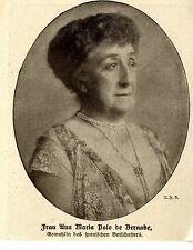Diplomatici donne * Ana Maria Polo de Barnabe * immagine documento 1916