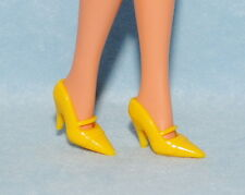 REFINED! Yellow Closed Toe Mary Jane Style High Heels BARBIE Shoes
