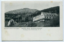 Mountain House Monadnock Mountain Peterborough New Hampshire 1910c postcard
