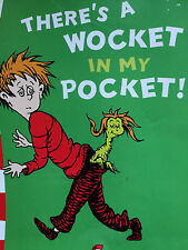 THERE'S A WOCKET IN MY POCKET Dr Seuss early learning pre school BEGINNER BOOKS