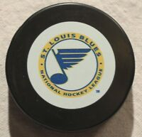 Vintage St. Louis Blues Official Puck NHL Hockey Early Logo Retro