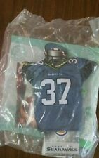 #37 Seahawks MINI NFL JERSEY Burger King Kids Meal Toy New c95